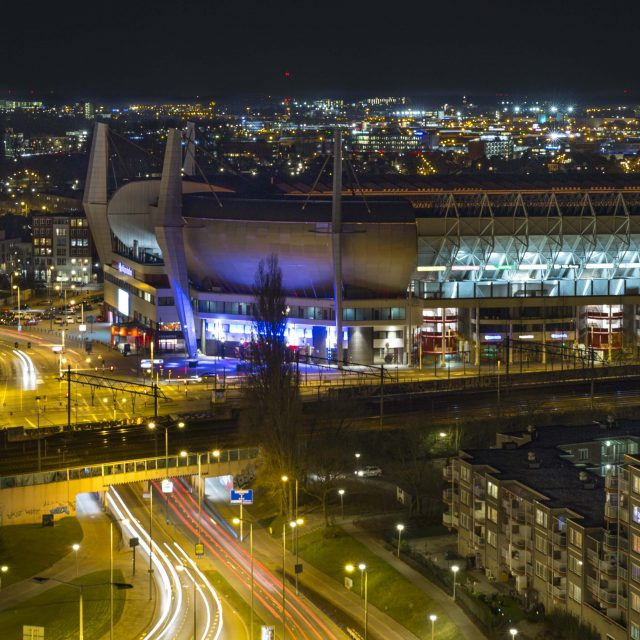 Voorbeeld foto Eindhoven PSV stadion