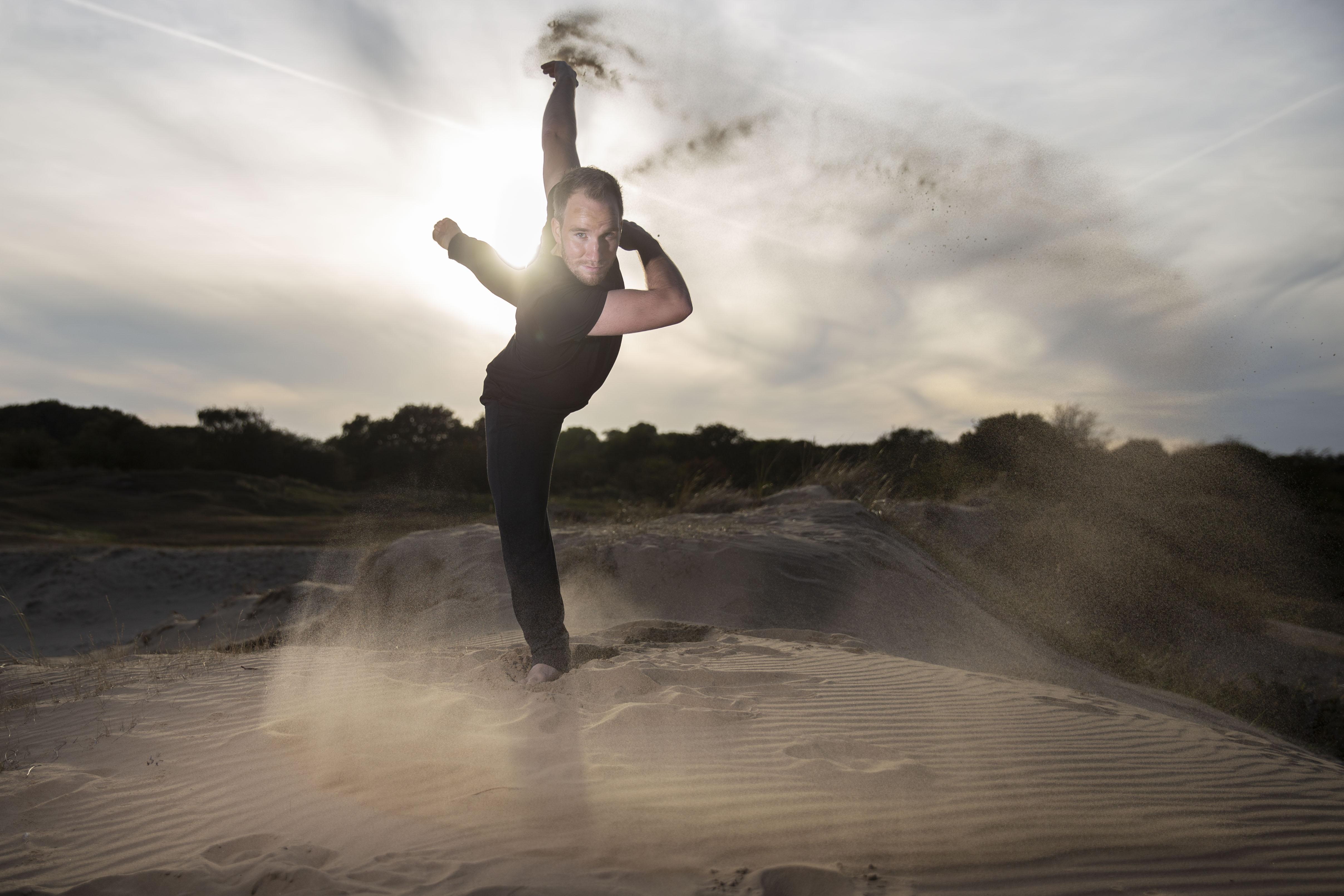 Dansen met zand