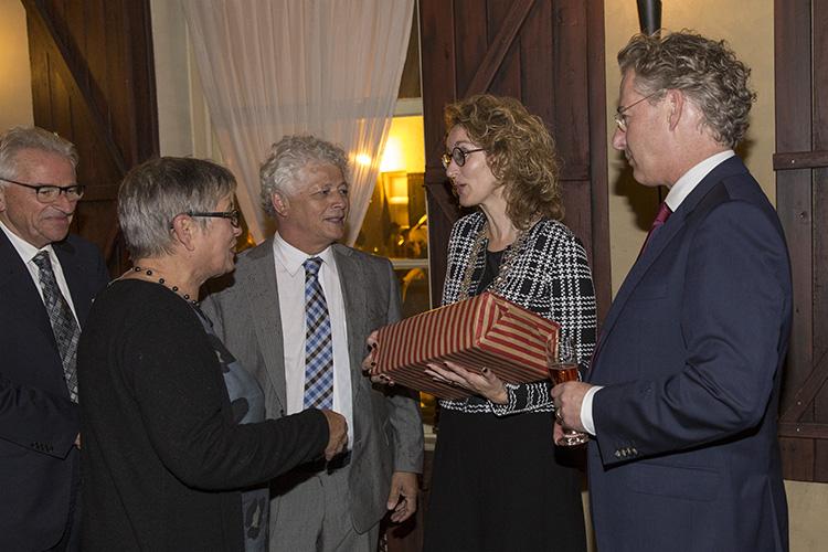 Burgemeester Judith Keijzers Oirschot en Ruud Severijns