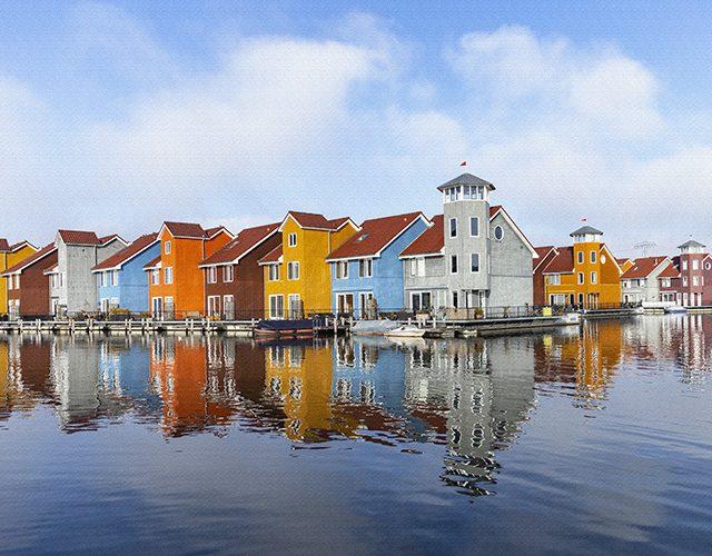Groningen Reitdiep haven