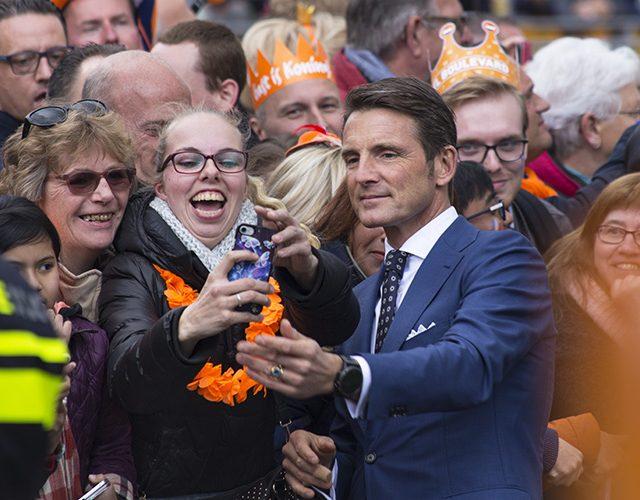 Prins Maurits Koningsdag Tilburg 2017 selfie