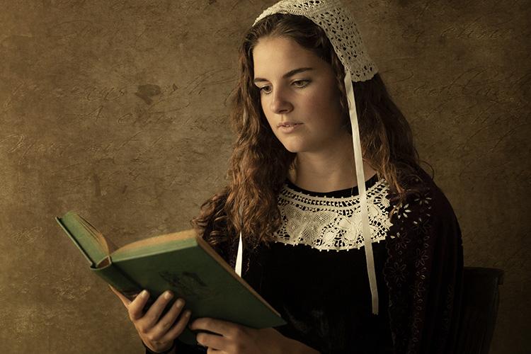 Particuliere fotografie Fine Art Rembrandt stijl oude meester
